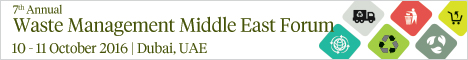 7th Annual Waste Management Middle East Forum