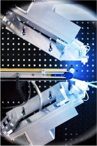 Die Radarkamera – Herzstück der Sortiermaschine – arbeitet bei 90 Gigahertz (Foto: © Foto Fraunhofer IOSB)