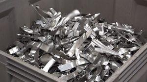 Stanzabfälle aus der Automobilindustrie (Aluminiumlegierungen 5xxx und 6xxx) - (Foto: Steinert GmbH