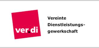 Bildergebnis für fotos vom logo der gewerkschaft ver.di