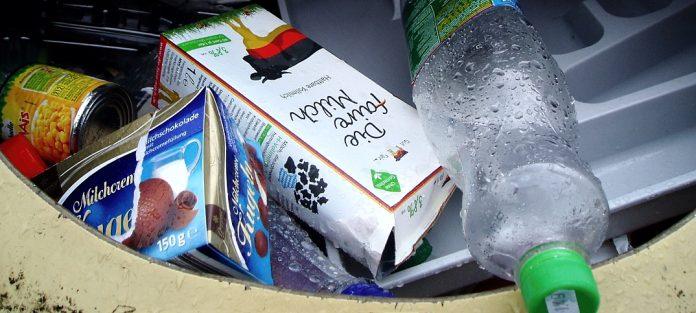 Rekordmenge an Verpackungsmüll im Jahr 2015