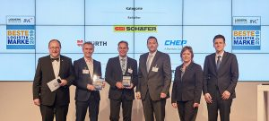 """SSI Schäfer als """"Beste Logistik Marke 2019"""" Kategorie Behälter ausgezeichnet"""