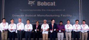 Neue Bobcat Produktionsstätte in Indien nimmt die Produktion auf
