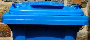 Wenn sperrige Kartons nicht in die blaue Abfalltonne passen
