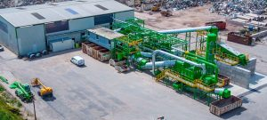 Nehlsen AG investiert 2,5 Millionen Euro in das Recyclingzentrum Sponholz