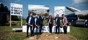 Bau einer neuen Firmenzentrale: Lindner Recyclingtech verdoppelt seine Kapazitäten