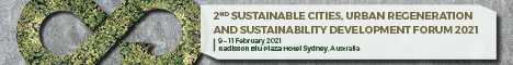 2nd Sustainable Cities, Urban Regeneration And Sustainability Development Forum